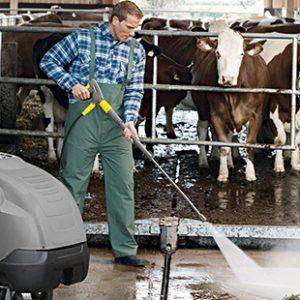 Μηχανήματα καθαρισμού υψηλής πίεσης ζεστού νερού